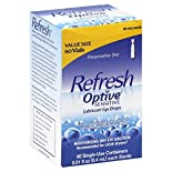 Refresh Optive Eye Drops, Lubricant, Sensitive, Value Size, 60 - 0.01 fl oz (0.4 ml) vials