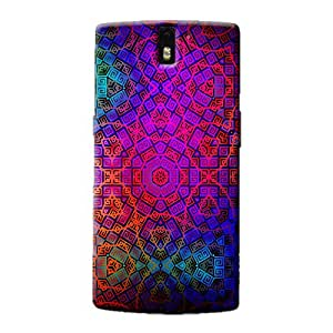 MULTI PATTERN BACK COVER FOR ONE PLUS ONE