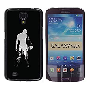 Omega Covers - Snap on Hard Back Case Cover Shell FOR SAMSUNG GALAXY MEGA 6.3 - Sci Fi City