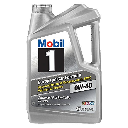 Mobil 1 120760 Synthetic Motor Oil 0W-40, 5 Quart (Mobil 1 Synthetic Oil 5 Quart compare prices)
