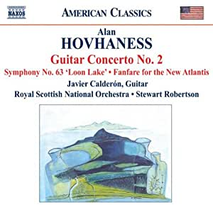 Hovhaness: Guitar Concerto No. 2; Symphony No. 63; Fanfare