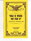 img - for Gold is where you find it : Goldfield, Arizona, 1892 book / textbook / text book