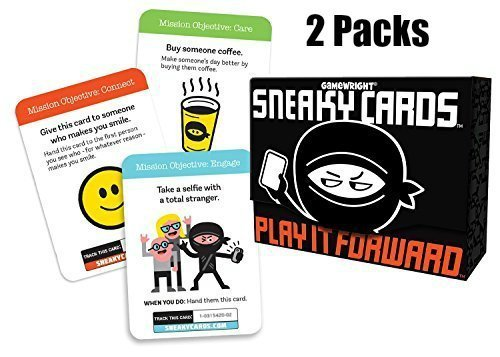 Sneaky Cards Card Game Value Bundle 2 Pack With Smartphone Screen Cleaner