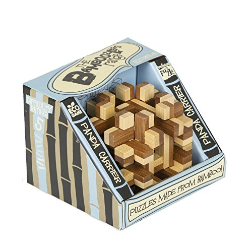 Bamboozler Panda Carrier Classic Wodden Puzzle