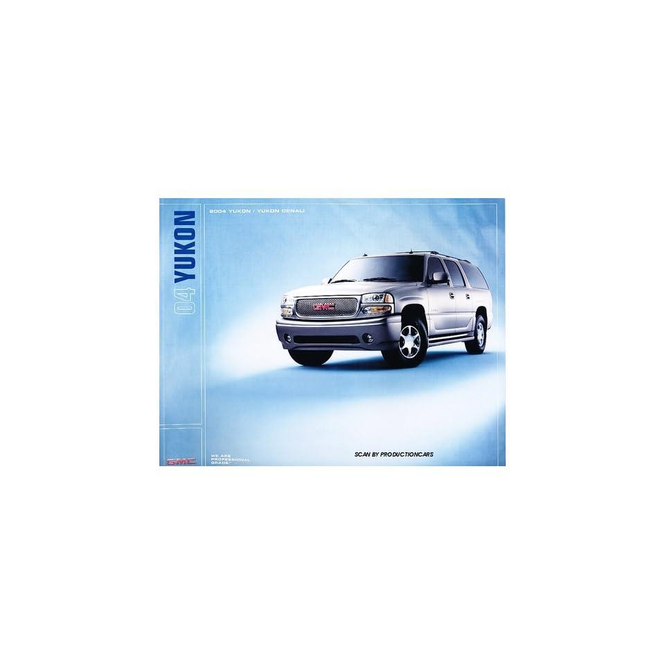 2004 GMC Truck Yukon and Denali 34 page Original Sales