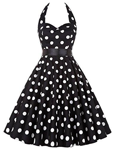 Grace Karin Women Vintage Dresses Polka Dots 50