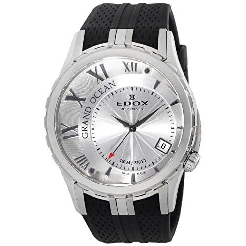 [エドックス]EDOX 腕時計 グランドオーシャン デイトオートマチック シルバー文字盤 自動巻 80080-3-AIN メンズ 【並行輸入品】
