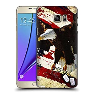 Official Jason Bullard The Cost Of Freedom America Hard Back Case for Samsung Galaxy Note5 / Note 5