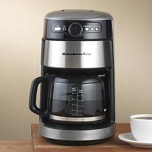 Kitchenaid Coffee Maker Repair Manual : Amazon.com: KitchenAid 14-Cup Glass Coffee Maker: Silver: Drip Coffeemakers: Kitchen & Dining