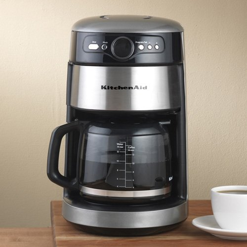 Kitchenaid Coffee Maker Operating Manual : KitchenAid 14-Cup Glass Coffee Maker: Silver www.cafibo.com