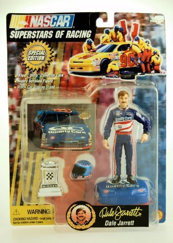 1997 - Toy Biz - NASCAR - Superstars of Racing - Special Edition - Dale Jarrett #88 - Action Figure w/ Accessories - Rare - Out of Production - Limited Edition - Collectible