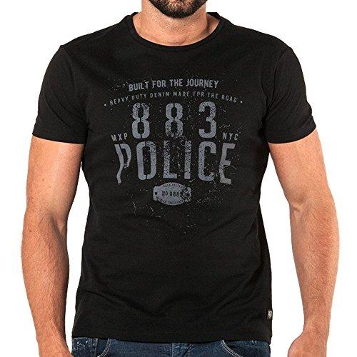 883 Police -  T-shirt - Uomo Black Large