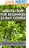 Meditation For Beginners - 22-Day Course
