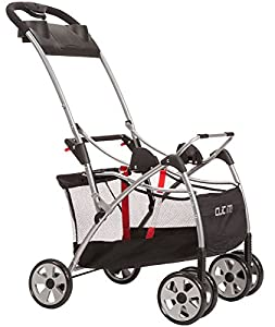 Safety 1st Clic It Universal Infant Car Seat Carrier,  Black/Silver (Discontinued by Manufacturer)