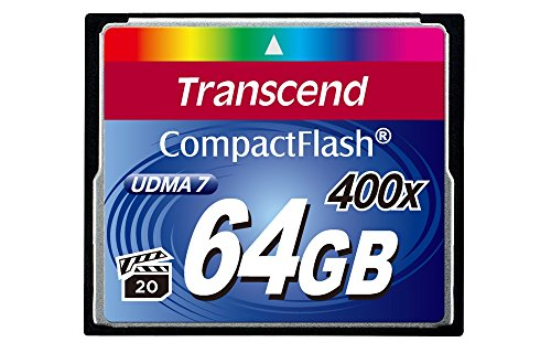 Transcend 64 GB 400x CompactFlash Memory Card TS64GCF400 Black Friday & Cyber Monday 2014