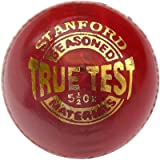 Stanford Cricket Ball True Test Red (Red)