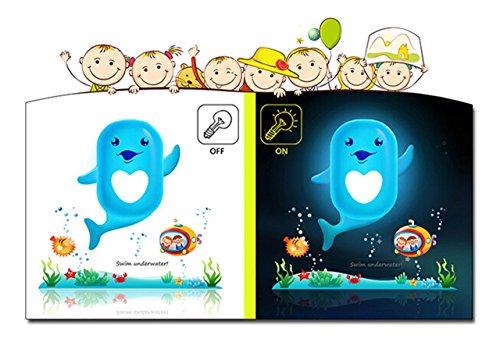 Wastar® Intelligent Wallpaper Night Light Cute Wall Sticker Lamp for Kids Room