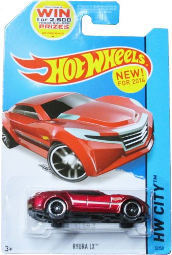 Hot Wheels HW City - 5/250 - Ryura LX - 1