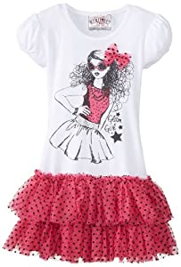 Beautees Girls 2-6X Tutu Top by Beautees