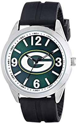 "Game Time Men's NFL-VAR-GB ""Varsity"" Watch - Green Bay Packers"