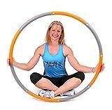 ResultSports® schaumgepolsterter Level-2-Hula-Hoop-Reifen für Fitnessübungen