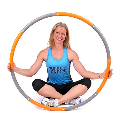 resultsportr-level-2-foam-padded-weighted-15kg-33lb-fitness-exercise-hula-hoop-100cm-wide