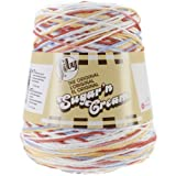 Spinrite Sugar'n Cream Yarn, Cones, Calico Thumbnail Image