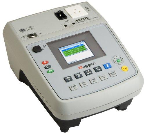 Megger Pat320-Us Portable Appliance Tester, 120V