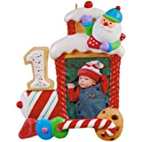 Hallmark Keepsake Ornament 2011 My First Christmas - Photo Holder - #QXG4409