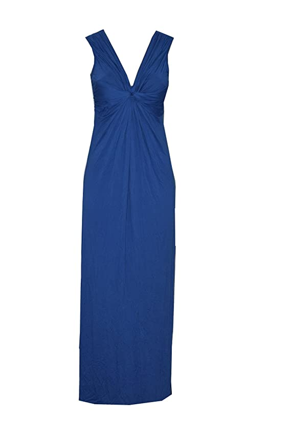 Studio M Studio Blue Knot Front Maxi Dress
