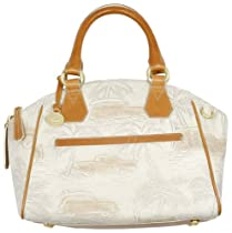 Hot Sale Brahmin Tyler Satchel in Natural Copa Cabana