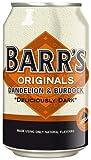 Barrs Originals Soft Drink, Dandelion & Burdock, 330 ml Cans (Pack of 24)