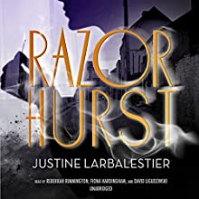 Razorhurst (       UNABRIDGED) by Justine Larbalestier Narrated by Rebekkah Rimmington, Fiona Hardingham, David Ligudzinski​