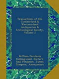 img - for Transactions of the Cumberland & Westmorland Antiquarian & Archeological Society, Volume 2 book / textbook / text book