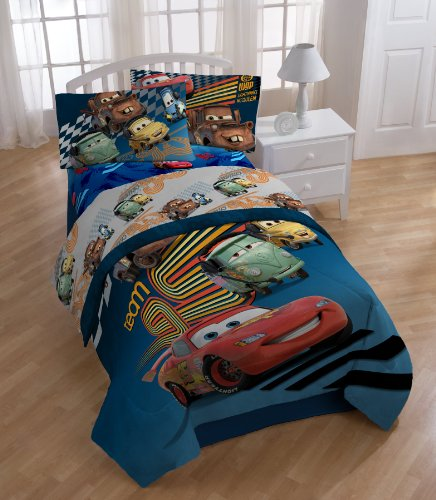 Disney/Pixar Cars Grand Prix Sheet Set, Twin