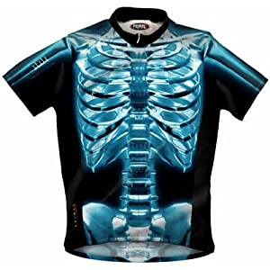 Primal Wear Mens X-Ray Original Short Sleeve Cycling Jersey - XRA1J10M by Primal