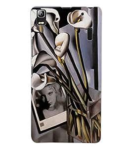 ColourCraft Painting Design Back Case Cover for LENOVO A7000 PLUS