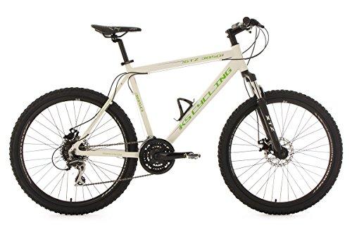 KS-Cycling-Fahrrad-Mountainbike-Hardtail-MTB-GTZ-RH-56-cm-wei-grn-26-Zoll-372M