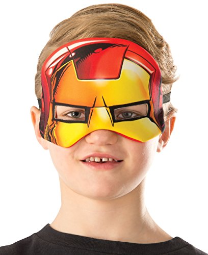 Rubie's Costume Marvel Universe Iron Man Child Costume Plush Eye Mask