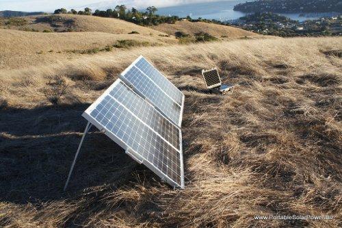 LFP 40v3 Portable Solar Generator System + 120w Portable Solar Panel