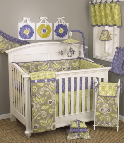 Cotton Tale Designs Periwinkle Bedding Set, 8 Piece