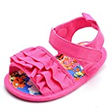 estamico Chanclas para Baby Girl Colorful inferior zapatos de beb� rosa rosa Talla:12-18 meses