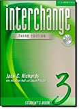 Interchange Student's Book 3 with Audio CD (3rd Edition)