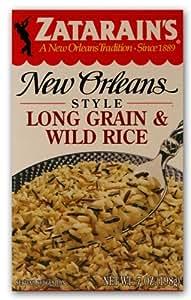 Amazon.com : Zatarain's Long Grain Wild Rice Mix : Dried