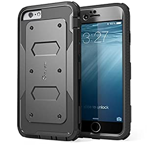 iPhone 6 Plus Case, [Armorbox] i-Blason® built in [Screen Protector] [Full body] [Heavy Duty Protection ] Shock Reduction[Bumper Corner] for Apple iPhone 6 Plus (5.5) inch New 2014 Release (Black)