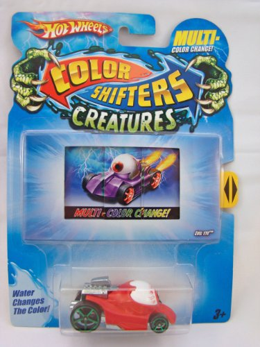 Hot Wheels Color Shifters Creatures 1:64 Car: Evil Eye Version 2 (Color Changing Hotwheels Cars compare prices)
