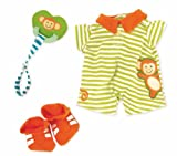 Manhattan Toys Baby Stella Little Monkey Onesie