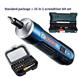 Bosch GO 31-In-1 Mini Electrical Screwdriver 3.6V Lithium-ion Battery Rechargeable Cordless Power Drill Set by BBT-shop