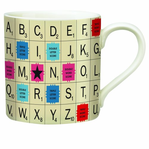 Wild and Wolf Scrabble Tile Mug