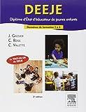 DEEJE. Diplôme d'État d'éducateur de jeunes enfants: Domaines de formation 1 à 4
